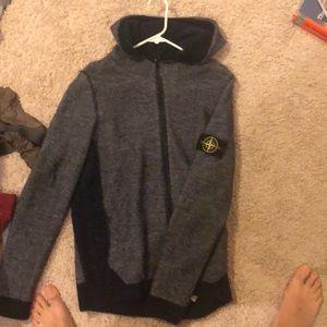 Size XL men's stone island jacket